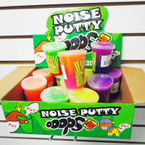 "3"" Big Size Two Tone Noise Putty 12 per display bx .55 each"
