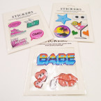 Fun Multi Use Stickers Mixed Styles SPECIAL Only  .30 each
