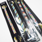 Square & Crystal Stone Beaded Fashion Headbands .49 each
