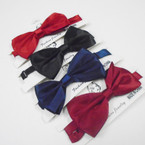 Adjustable Strap Satin Bow Ties 4 colors .58 ach