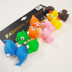 Squeeze Animal Keychains Eyes Pop Out  when Squeezed .50 each