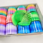 """2.5"""" New Gradiant Color Magic Spring 12 per bx .54 ea"""