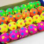 "2.5"" Flashing Light Up Space Balls w/ YoYo 24 per bx .54 each"