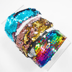 "2"" Sequin Change Color Mermaid Headbands  .56 each"