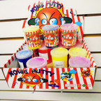 """2.75"""" Noise Putty Neon Colors 12 per display unit .58 each"""