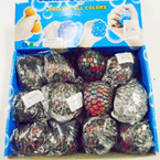 "3"" Multi Color Bead Squish Jelly Balls 12 per display bx .58 each"