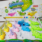 "5""  Wind Up Crocodile's Asst Colors 12 per display bx .58 each"