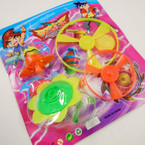 Combo Spin Top & Flying Disc Toy 12 per pack .55 each