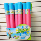 "16"" Foam Pump Action Water Guns 24 per display bx $ 1.25 ea"