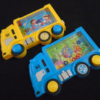 "3.5"" X 5.5"" Truck Theme Water Toy Game 12 per pk .58 each"