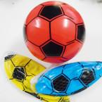 "8""  Asst Color Inflatable Soccer Balls 12 per pack .58 each"