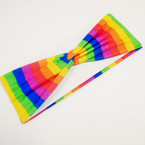 "3"" Wide Stretch Rainbow Color Headbands .54 each"