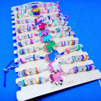 Fimo,Glass Bead & Crystal Stone Fashion Unicorn Bracelets .54 each