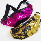 Change Color Sequin Fashion Waist Pouches $ 3.00 each