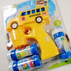 "5.5"" x 6.5"" Bubble Gun w/ Flashing Lights & Sound School Bus sold by pc  $3.50 each"