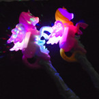 "15"" Flashing w/ Sound Unicorn Wand sold by pc $ 2.50 each"