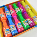 "4"" Asst Color Panda Bottle of Slime 24 per bx .40 each"