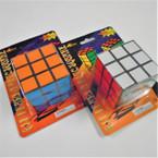 """2.5"""" Square Multi Color Puzzle Cube 12 per pk .65 each"""