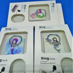 Mermaid Theme Ring Hook Phone Holders 12 per pk .56 each