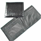 Bi Fold All Black Leather Look Men's Wallets .58 each