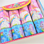 Novelty Unicorn Theme Magic Springs 12 per display  bx .56 each