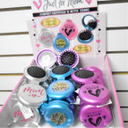Custom Imprinted MOM Compact Hairbrush & Mirror 24 per display $ 1.00 ea