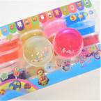 """2.5"""" Asst Color w/ Glitter Hearts Fun Putty 24 per pack .31 each"""