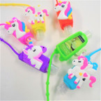"3"" Asst Scent Hand Sanitizer Colorful Unicorn Theme 12 per pk .56 ea"