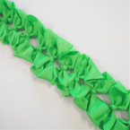 "3.50"" All Light Green Color Gator Clip Fashion Bow .27 ea"