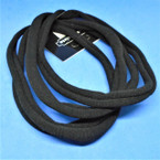 Popular 4 Pack Soft & Stretchy Headbands All Black .54 per pack