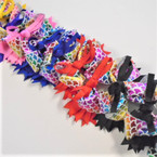"5"" Layered Gator Clip Bows w/ Metallic Mermaid Scales  .54 ea"