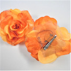 Gradiant Tone Orange Flower 3 in 1 Multi Use Bow   .40  each