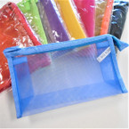 "4.5"" X 7.5""X 2.5"" High Quality Mesh Zipper All Purpose Bags .56 each"