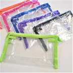 "4.5"" X 7.5""X 2.5"" See Thru Zipper All Purpose Bags  .56 ea"