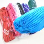 Mixed 8 Color Hair Turbans 12 per pk $ 1.04 each