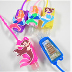 "3"" Asst Scent Hand Sanitizer Colorful Mermaid Theme 12 per pk .56 ea"