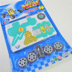 Boy's  3D Puzzle Race Car Theme 12 per pk  .54 ea