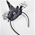3 Color Witches Hat Theme Halloween Headbands w/ Lace   .58 each