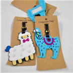 Durable Sheep & Liama Theme Luggage Tags 12 per pk .56 each