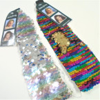 "2.25"" Change Color Sequin Headwraps w/ Elastic Back .54 ea"