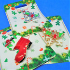 "1.5""-2"" Cast Epoxy Christmas Broaches Tree & Boot Theme .54 each"