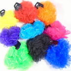 2 Pack Chiffon Hair Twisters Asst Bright  Colors  .54 per set