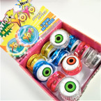 EYE Theme Light Up Action YoYo's 12 per display bx .56 each