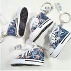 "3"" Denium Converse Look Sneaker Keychains .60 each"