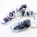 "3"" Denium Converse Look Sneaker Keychains .62 each"