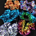 2 Pack Metallic Mermaid Scale Hair Twisters .54 per set