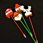 "4 Style 9"" Christmas Lite Up Celebration Pens .55 each"