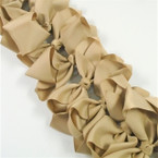 "5.5""  Khaki Color School Color Gator Clip Bows .45 each"