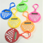 "2"" Asst Color Clip On Calculators  12 per pk  .62 each"