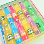 "5.5"" Colorful Bottle Of Slime 6 colors per display bx (Sand Glue)  .58 each"